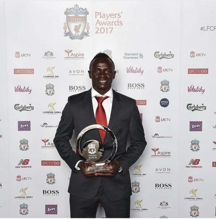 PREMIER LEAGUE : Sadio Mané désigné joueur de la saison par Liverpool