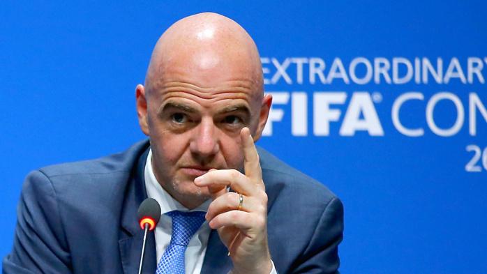 """Infantino se défend : """"La Fifa est une démocratie, pas une dictature"""""""