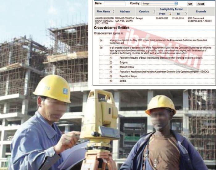 FRAUDE SUR LES MARCHÉS PUBLICS : Pourquoi la Banque Mondiale a tapé sur Jiangsu Sénégal