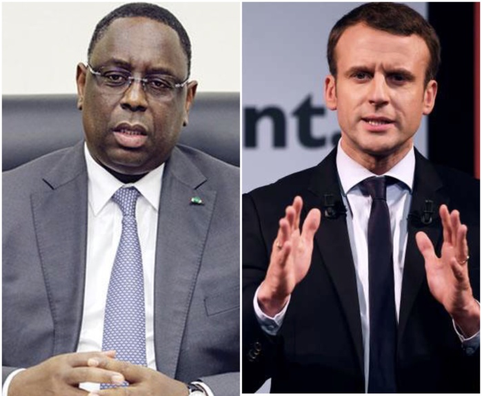 COUP FIL ENTRE PRÉSIDENTS : Macron câble Macky Sall
