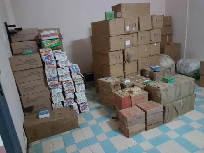 Contrefaçon : Deux tonnes de faux médicaments et piles électriques d'une valeur de 37 millions saisies