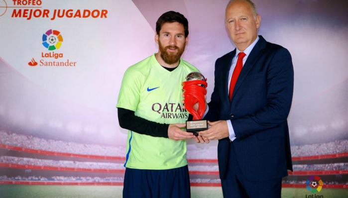 Messi honoré en Espagne, une rareté !