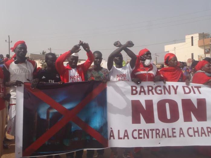 Le Peuple de BARGNY dit NON à la centrale de charbon (Images)