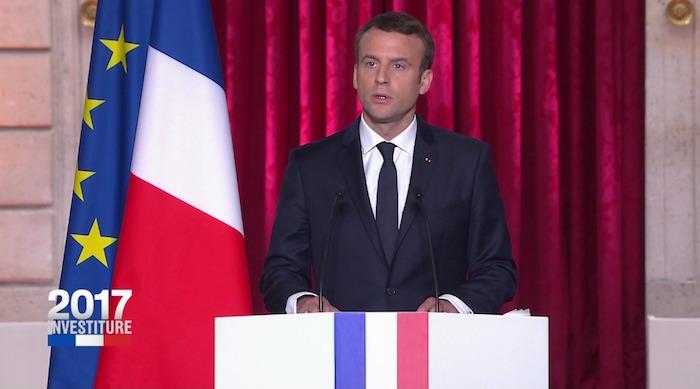 FRANCE - Emmanuel Macron officiellement investi président de la République : L'essentiel de son discours d'investiture