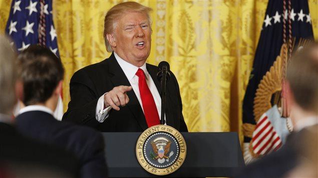ETATS-UNIS : Donald Trump pense à supprimer les points presse quotidiens à la Maison Blanche