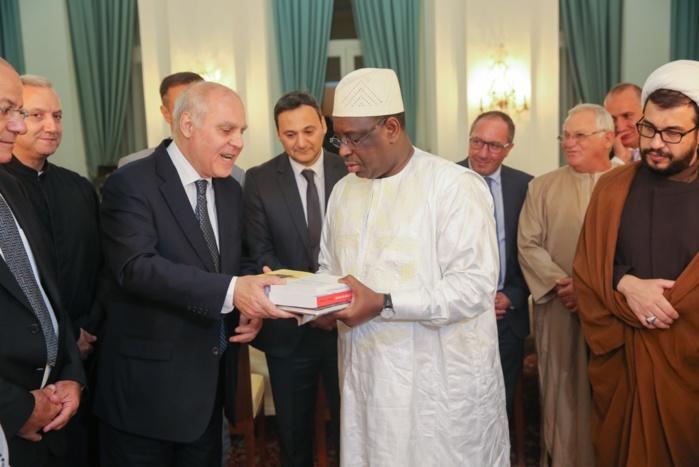 Le président Macky Sall rencontre les Industriels et chefs d'entreprise Sénégalais d'origine Libanaise