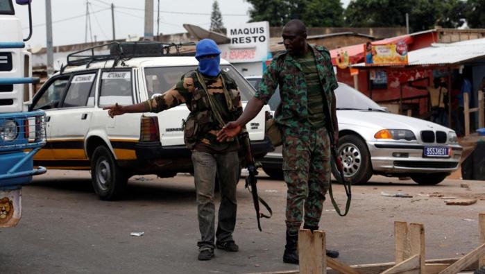 CÔTE D'IVOIRE : la mutinerie s'étend à de nouvelles villes