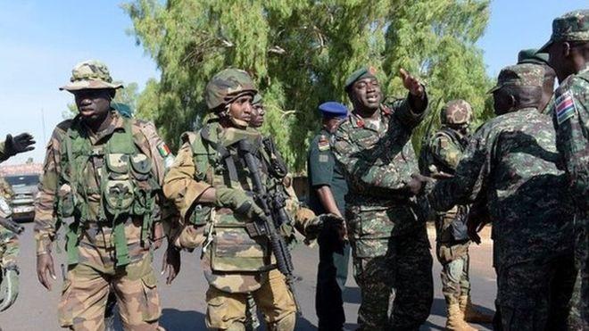 Gambie : contrôle dans l'armée