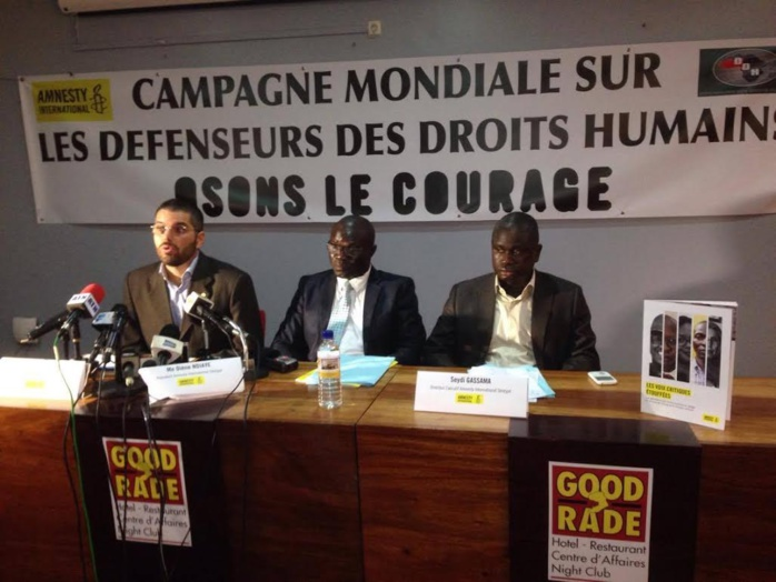 « Osons le courage », une nouvelle campagne mondiale de Amnesty International pour mettre un coup d'arrêt à la vague d'attaques dont sont victimes les hommes et les femmes qui défendent les droits humains.