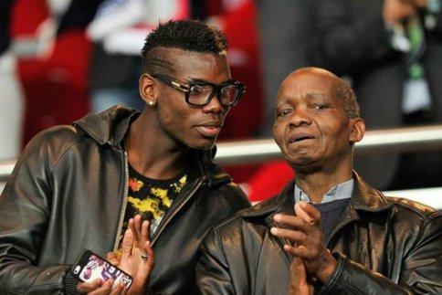 Pogba rend hommage à son père
