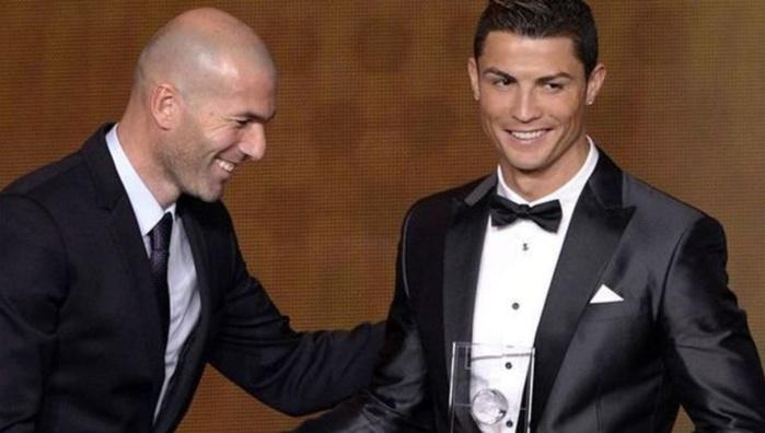 Le bel hommage de Ronaldo à Zidane