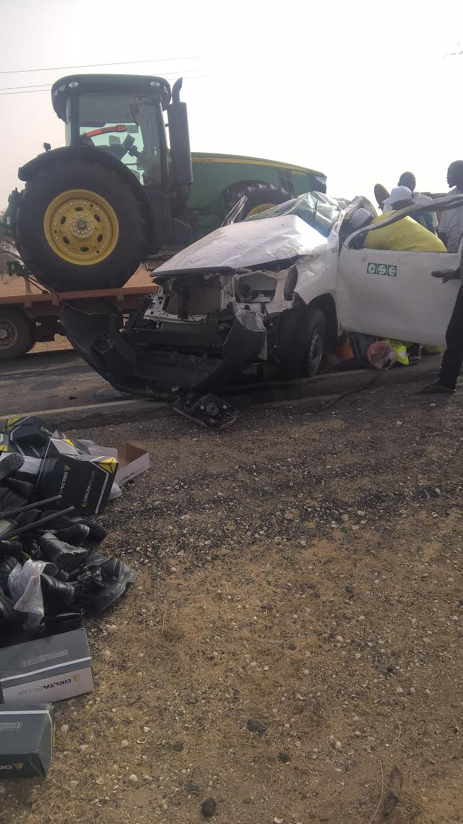 LOUGA : Un accident fait un mort