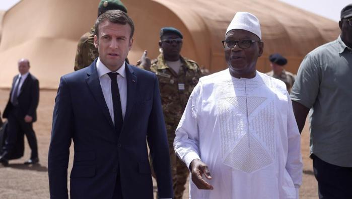 MALI : Emmanuel Macron accueilli à Gao par son homologue IBK