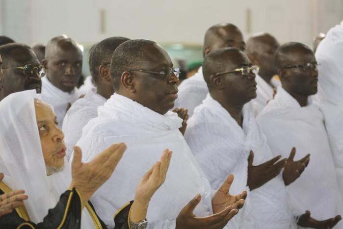 EN SÉJOUR À LA MECQUE : Le Président Macky Sall a effectué la Oumra