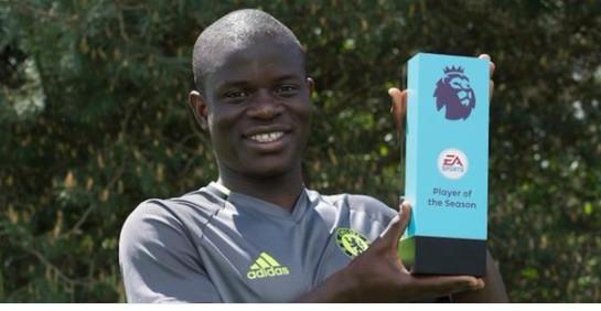 Chelsea : nouveau trophée pour Kanté !