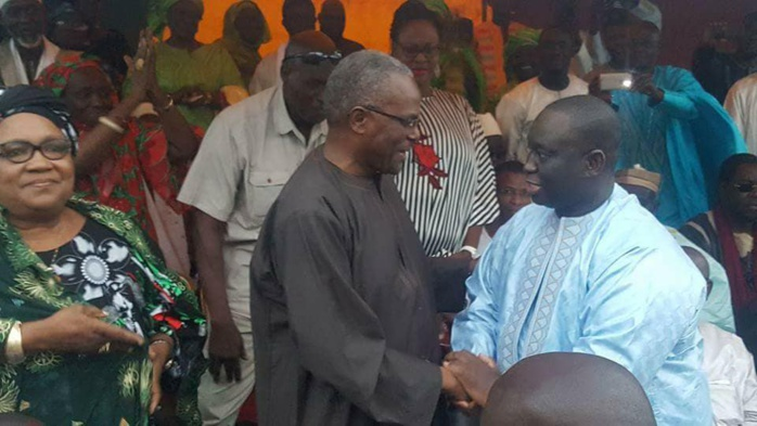 Tanor Dieng au meeting de BBY de Guédiawaye : « J'ai dit au président que le meilleur candidat pour diriger Guédiawaye c'est Aliou Sall »