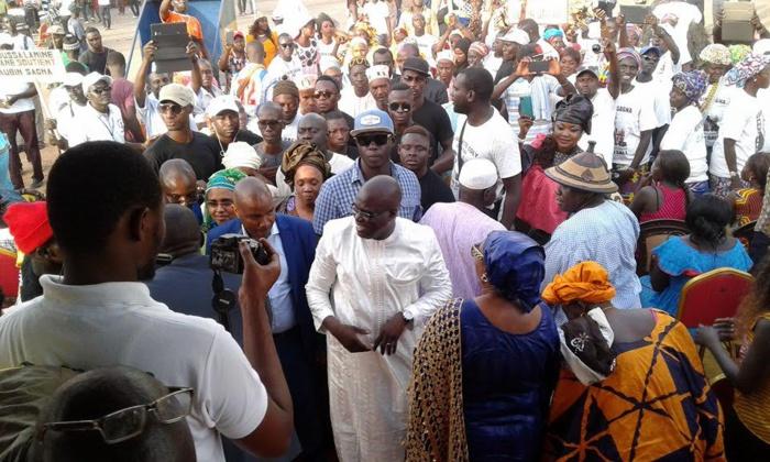 """""""Bignona doit renaître... Il est temps que Bignona redevienne cette belle ville carrefour au sein de la Casamance"""" selon Aubin SAGNA"""