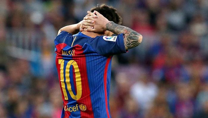 Messi condamné à 21 mois de prison