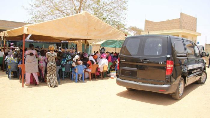 Ngoundiane : Le Maire Mbaye Dione appuie les acteurs de la santé à hauteur de 37.5 millions Francs Cfa.