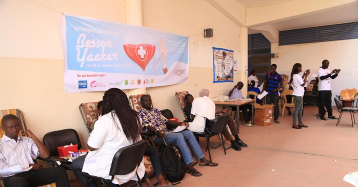 Tigo, partenaire des Grandes journées de don de sang organisées par Hope