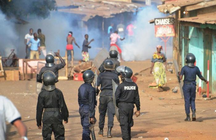 Manifestations contre Copelit Afrique : Un manifestant et un gendarme blessés
