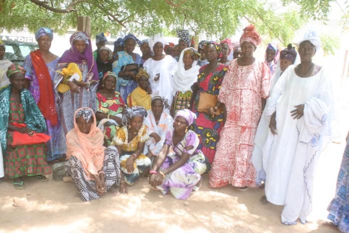 Koumpentoum : Le FNCF octroie 50 millions aux GPF du réseau des femmes pour l'émergence.