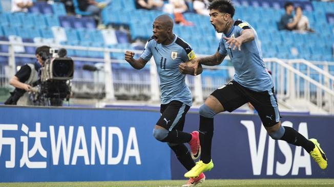 Mondial U 20 : L'Uruguay passe sans briller (1:0)