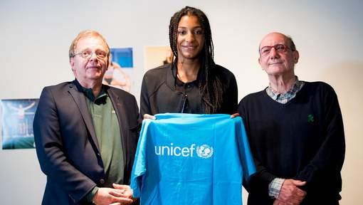 Nafissatou Thiam, nouvelle ambassadrice de l'Unicef