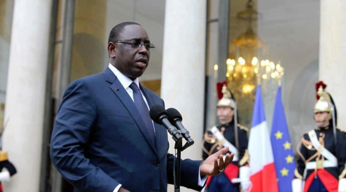 PALAIS DE L'ÉLYSÉE : Le président Macky Sall invité par Emmanuel Macron