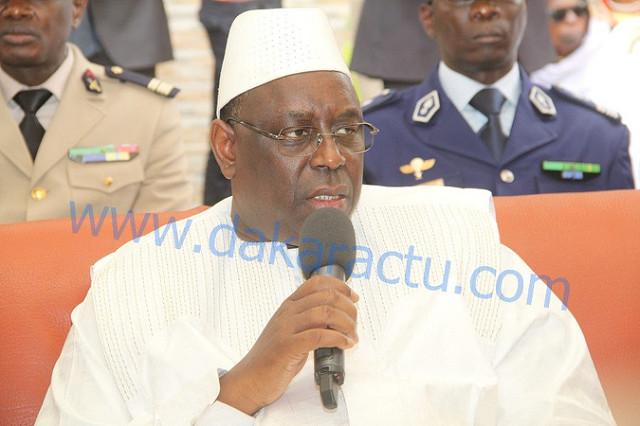 Le Président Macky Sall a offert un lot de matériel agricole au Khalife de Guet-Ardo