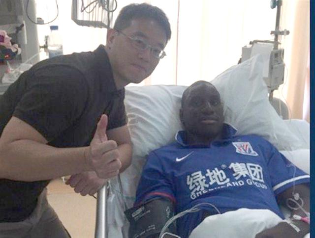 Sa jambe lui faisant toujours mal, Demba Ba va subir une opération en France