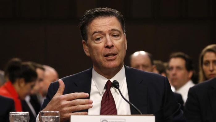 ETATS-UNIS : Face au Sénat, l'ex-chef du FBI accuse l'administration Trump de «diffamation»
