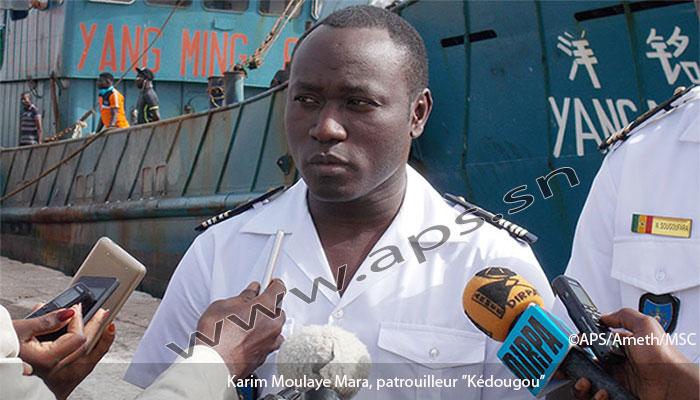 Pêche : Des chalutiers battant pavillon chinois pris en flagrant délit au large de la Casamance (marine sénégalaise)