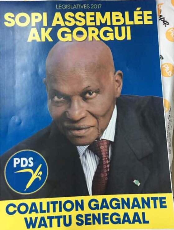 SOPI ASSEMBLÉE AK GORGUI : La photo officielle de campagne de la Coalition Gagnante Wattu Senegaal