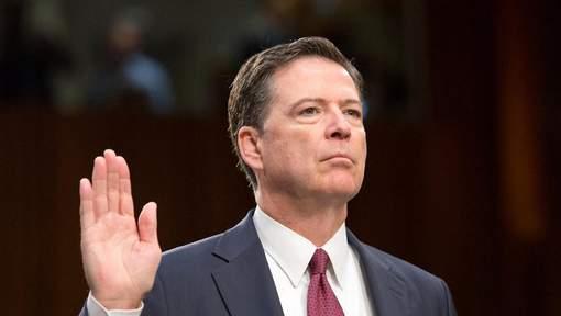 L'ex-directeur du FBI rend plausibles des poursuites contre Trump
