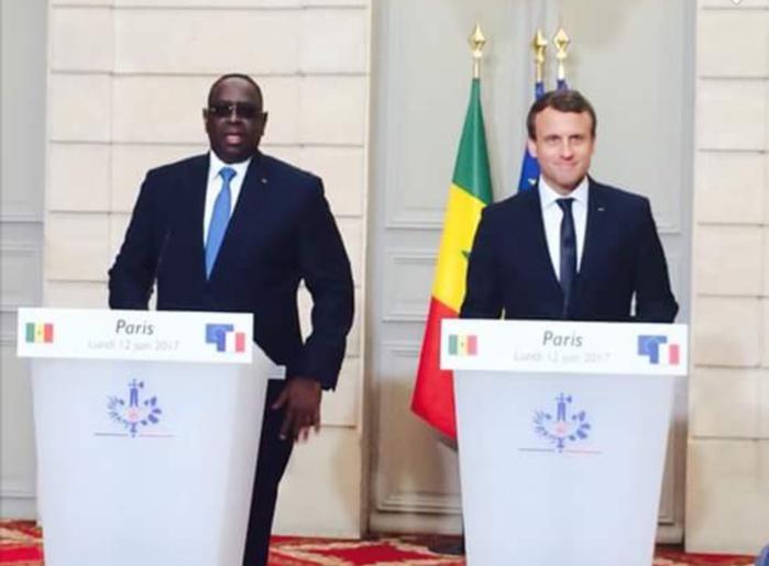 Terrorisme, relation économique, environnement : Macky Sall et Macron s'engagent pour une coopération équilibrée