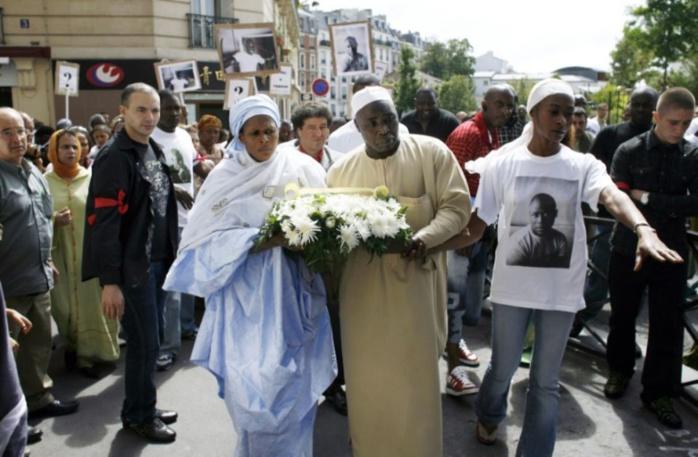 FRANCE : Drame de Lamine Dieng un jeune Sénégalais mort dans le fourgon de la police lors de son interpellation