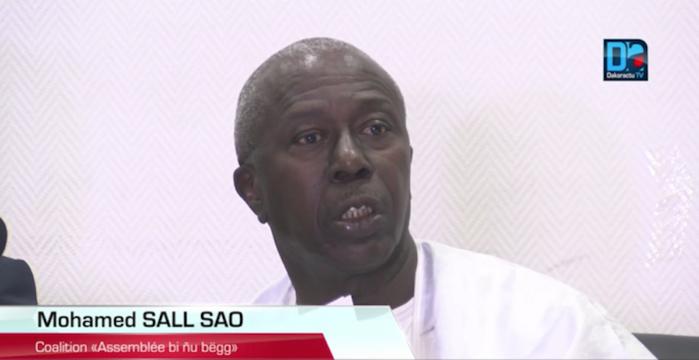 """MOHAMED SALL SAO (Assemblée Bi nu Beug) : """" Pour ces élections, il n'y a pas des poids lourds et des poids plumes '"""