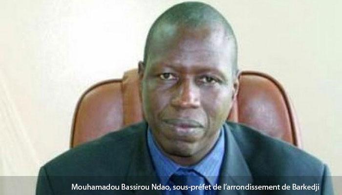 Mouhamadou Bassirou Ndao, nouveau sous-préfet de Barkedji