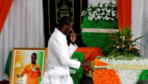 Ultime hommage à Cheick Tioté en Côte d'Ivoire