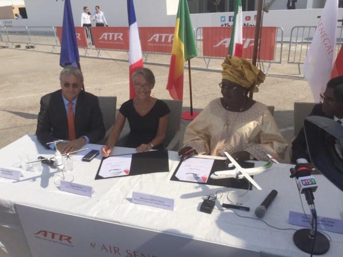 TRANSPORT AÉRIEN : Air Sénégal S.A finalise la commande des deux avions neufs de type ATR 72-600