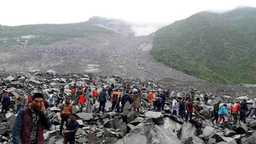 Chine : 141 disparus dans un glissement de terrain