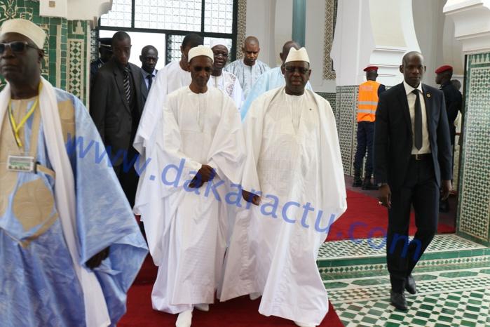 Les images de la célébration de l'Aïd-El-Fitr  à la Grande mosquée de Dakar