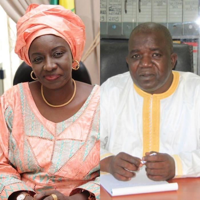 Télescopage à Pire : Mimi Touré se retrouve nez à nez avec la délégation de Manko dirigée par... son ex mari Oumar Sarr