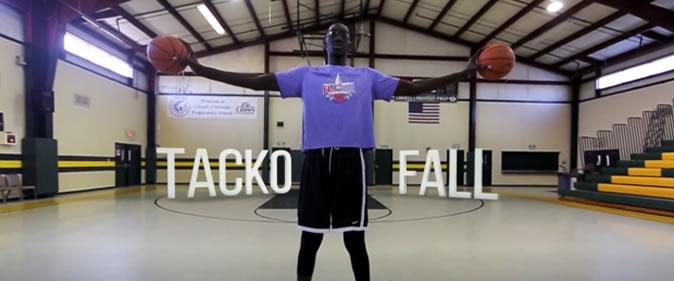Tacko Fall, le géant de 2m29 qui voudrait davantage ressembler à Steve Jobs qu'à LeBron