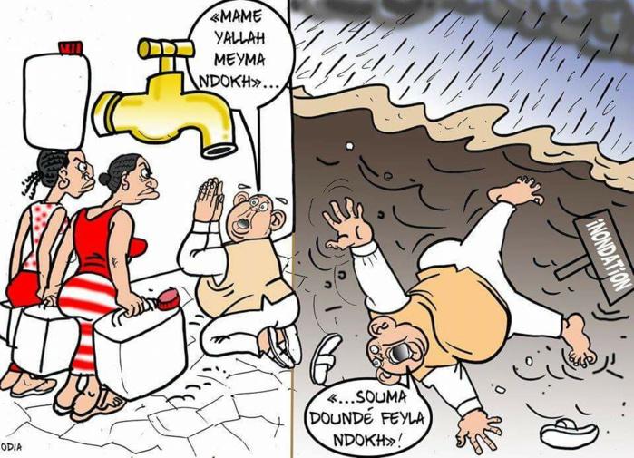 Une grave question d'eau (La Tribune d'Odia)