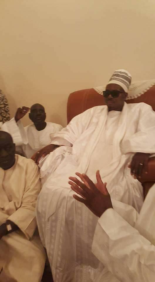 CONDOLÉANCES : Le Khalife général des Mourides envoie son porte-parole à Amadou Ba