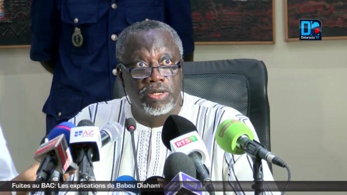 FUITES AU BAC - Mody Niang ne comprend toujours pas pourquoi Babou Diaham est encore en poste
