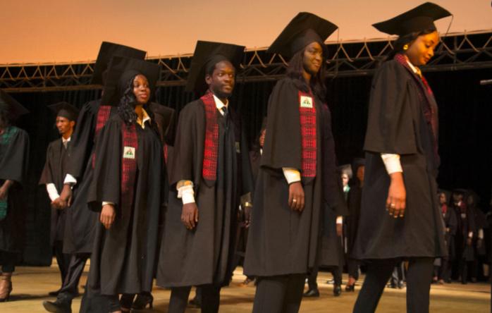 Cérémonie de graduation : Le CESAG fête l'excellence et rend un vibrant hommage à ses étudiants prêts pour affronter le monde de l'emploi.
