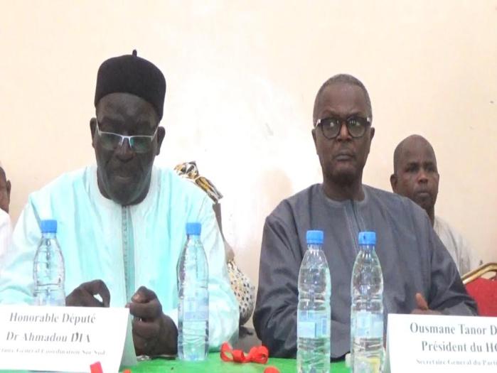 Ousmane tanor dieng annonce que le pr sident macky sall s for Chambre de commerce de dakar formation